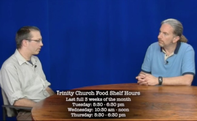 Windsor Trinity Church: Food Shelf & Faith and Finance