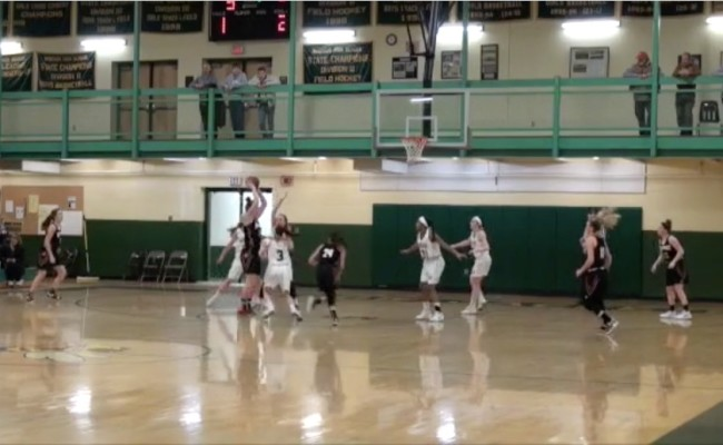 Varsity Girls vs. Newport 1/16/2018