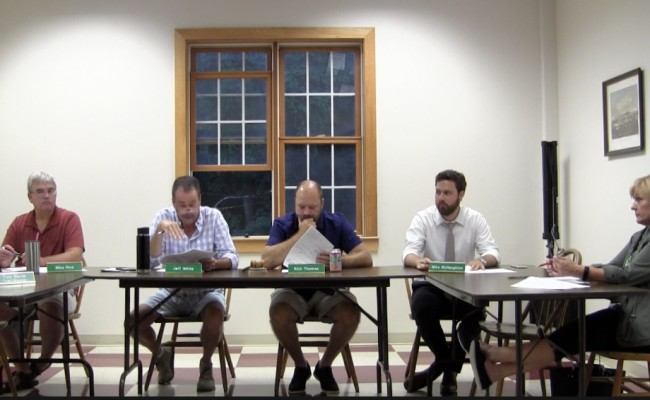 Windsor Select Board 7/31/2018