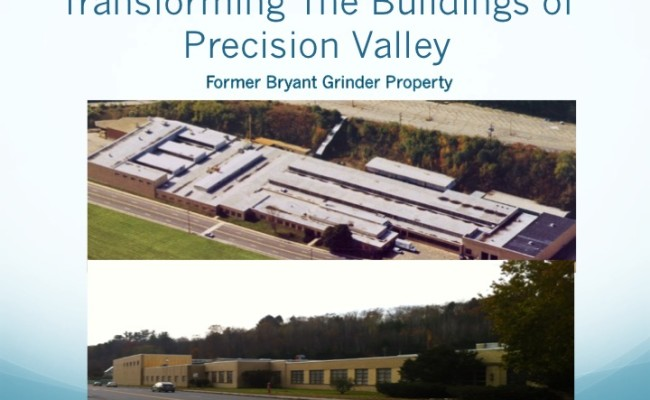 Transforming the Buildings of the Precision Valley