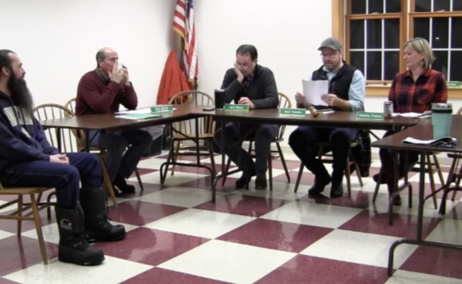 Windsor Select Board 2/12/2019