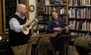 West Windsor Library, Tiny Desk Concert with David Morin & Heather Findlay