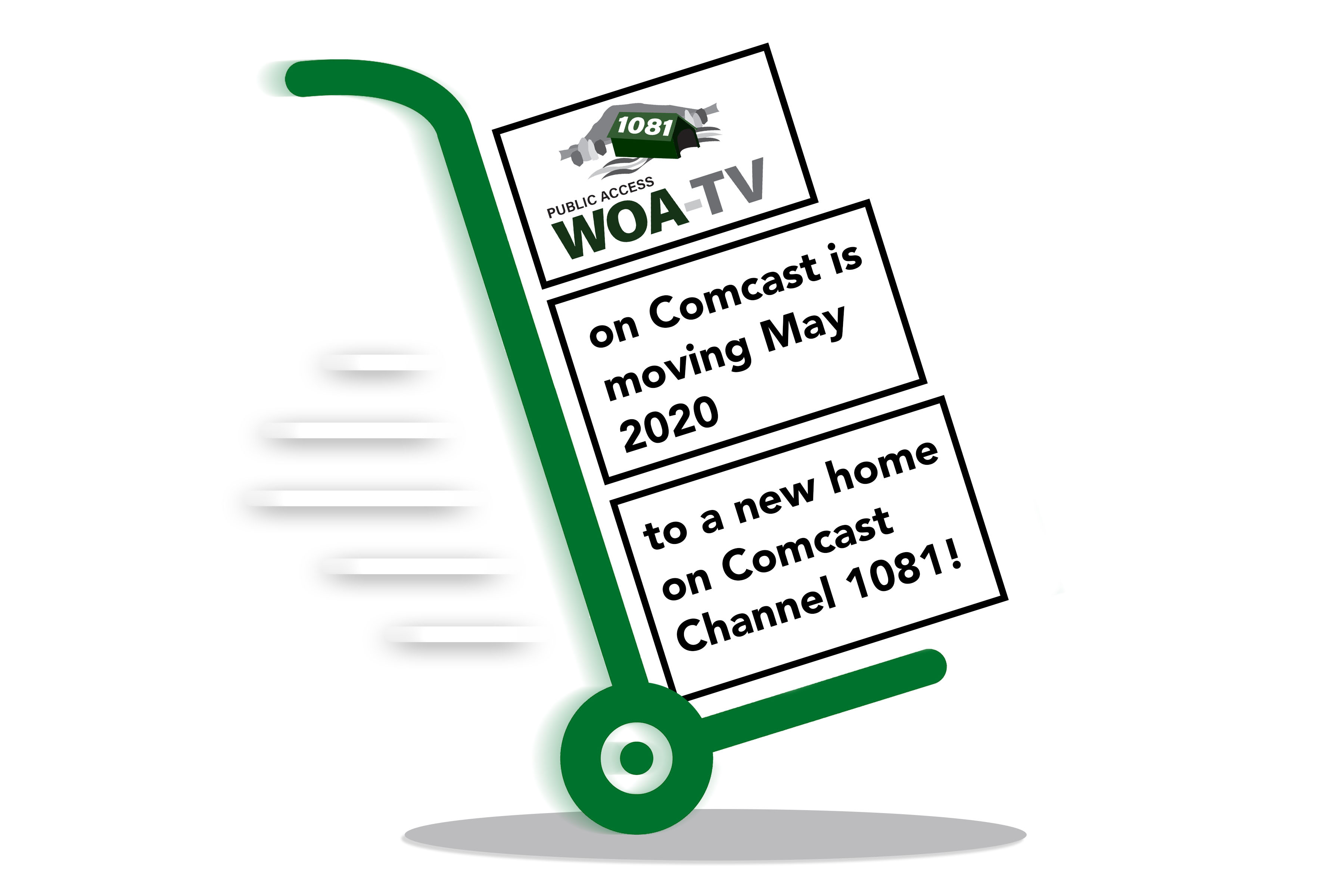 WOA is Moving!
