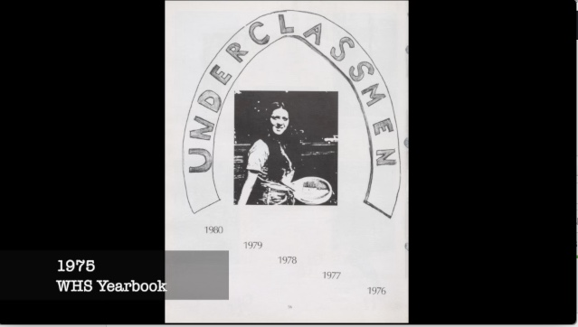 WHS Yearbook 1975