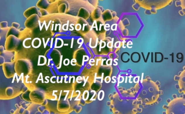 Windsor Area COVID-19 Update 5/8/2020