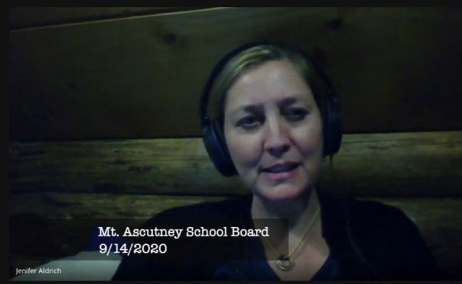 Mt. Ascutney School Board 9/14/2020